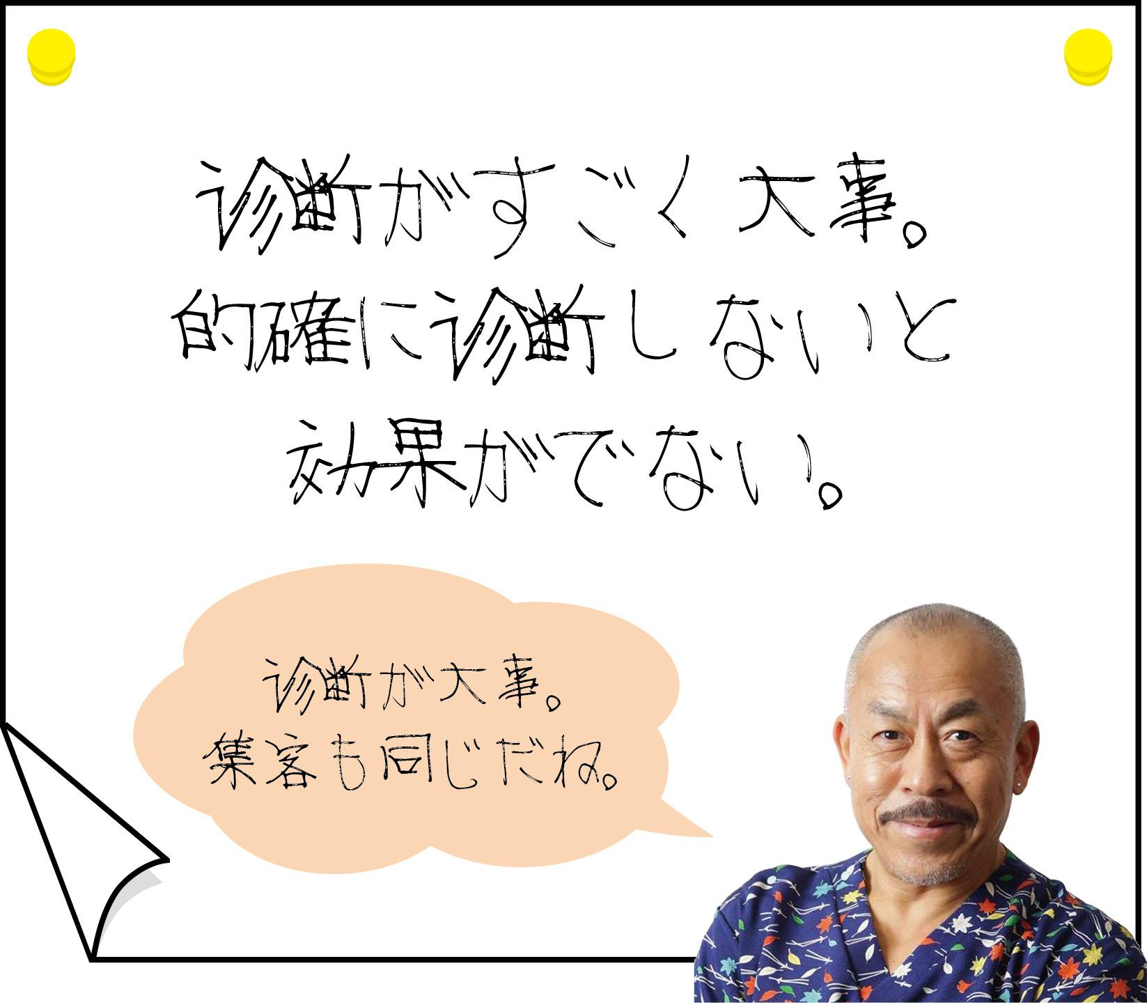 YNSA藤沢操体鍼療所にはどんな患者さんが来るか?②